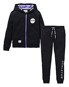 Henleys Girls Fleece Tracksuit