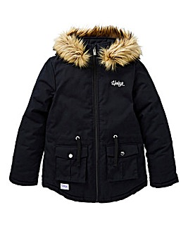 Henleys Girls Hooded Parka
