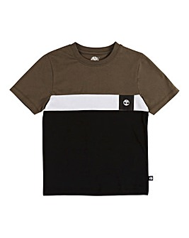 Timberland Boys Colour Block T-Shirt