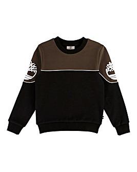 Timberland Boys Colour Block Sweatshirt