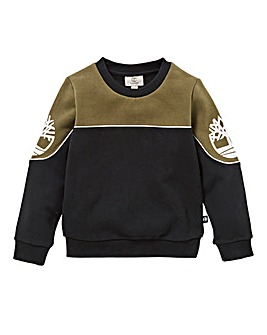 Timberland Boys Colour Block Sweatshirt