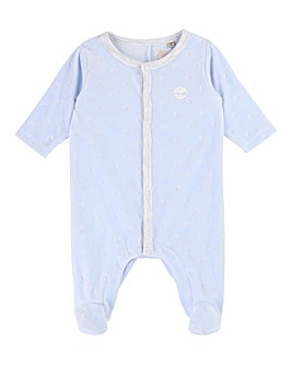 Timberland Baby Soft Fleece Sleepsuit