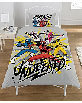 Power Rangers Ninja Steel Panel Duvet