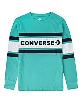Converse Boys Graphic Stripe L/S T-Shirt