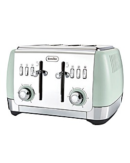 Breville Strata Green 4 Slice Toaster