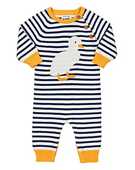 Kite Duckling Knit Romper