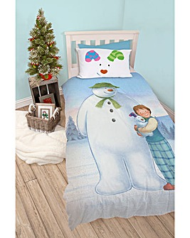 The Snowman Single Panel Duvet