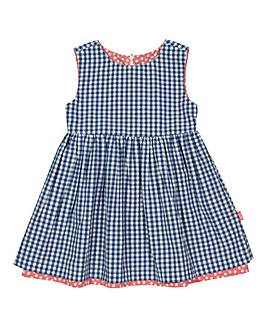 Kite Dotty Reversible Gingham Dress