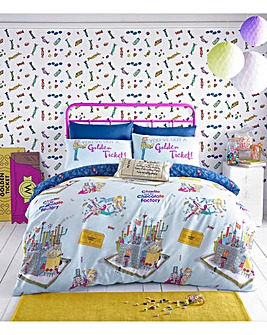 Roald Dahl Willy Wonka Duvet