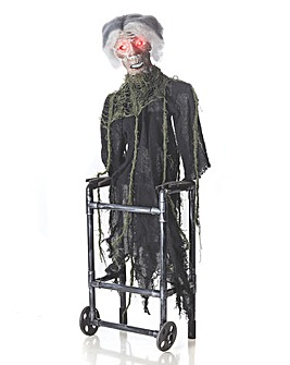 Zombie in Zimmer Frame with movement