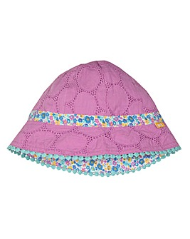 Kite Broderie Reversible Sun Hat