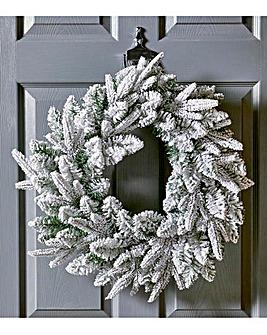 Lapland Snowy 50cm Wreath