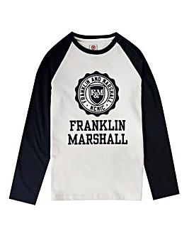 Franklin & Marshall Boys Raglan T-Shirt