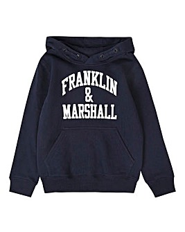 Franklin & Marshall Boys Navy Hoodie