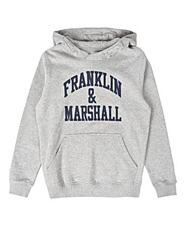Franklin & Marshall Boys Grey Hoodie