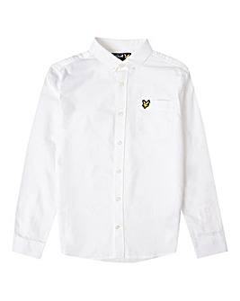 Lyle & Scott Boys White L/S Shirt
