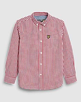 Lyle & Scott Boys Red L/S Shirt