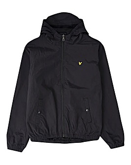 Lyle & Scott Black Hooded Jacket