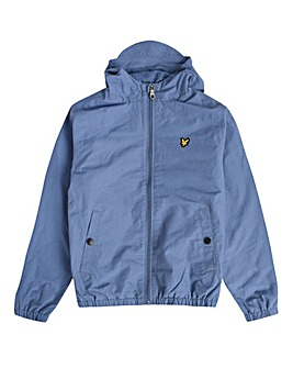 Lyle & Scott Blue Hooded Jacket