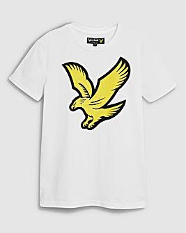 Lyle & Scott Boys White Eagle T-Shirt