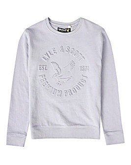 Lyle & Scott Boys Blue Sweatshirt