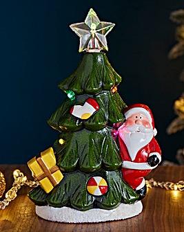 Ceramic Santa tree