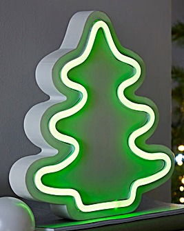 Christmas Tree Neon Light