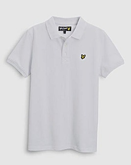 Lyle & Scott Boys White S/S Polo