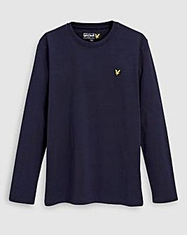 Lyle & Scott Boys Navy L/S T-Shirt