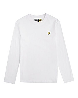 Lyle & Scott Boys White L/S T-Shirt
