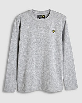 Lyle & Scott Boys Grey L/S T-Shirt