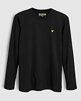Lyle & Scott Boys Black L/S T-Shirt