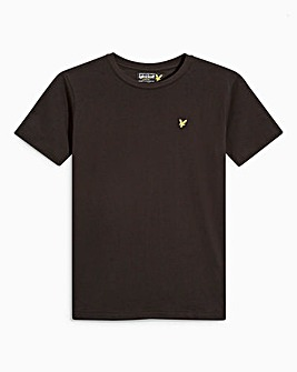 Lyle & Scott Boys Black S/S T-Shirt