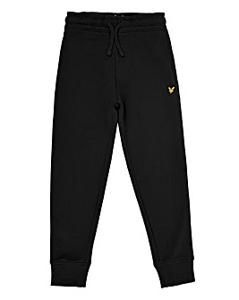 Lyle & Scott Boys Black Jogging Bottoms