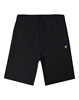 Lyle & Scott Boys Black Sweat Shorts