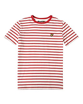 Lyle & Scott Boys Red Stripe T-Shirt