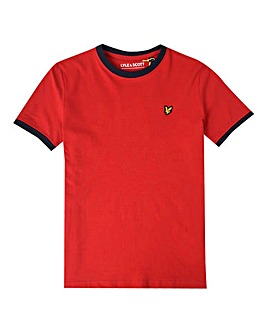 Lyle & Scott Boys Red Ringer T-Shirt