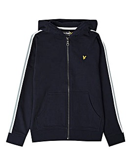 Lyle & Scott Boys Navy Taped Hoodie
