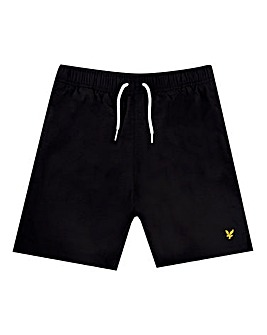 Lyle & Scott Boys Black Swim Shorts