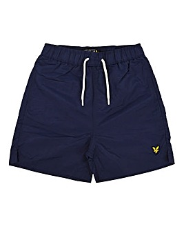 Lyle & Scott Boys Navy Swim Shorts