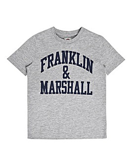 566f2cef2b Franklin   Marshall Boys Logo T-Shirt