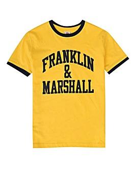 Franklin & Marshall Boys Ringer T-Shirt