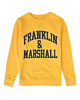 Franklin & Marshall Boys Crew Sweat