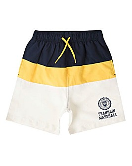 Franklin & Marshall Block Swim Shorts
