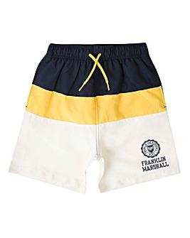 Franklin & Marshall Block Swim Shorts