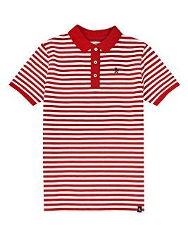 Original Penguin Boys Red Stripe Polo