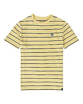 Original Penguin Boys Yellow Stripe Tee
