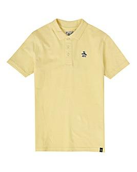 Original Penguin Boys Yellow Polo