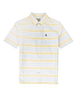 Original Penguin Boys Blue Stripe Shirt