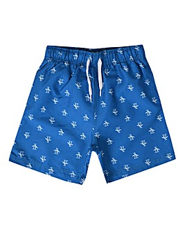 Original Penguin Boys Blue Swimshort